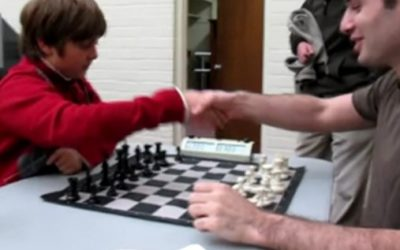 Schach: 10-jähriger gegen Internationalen Meister