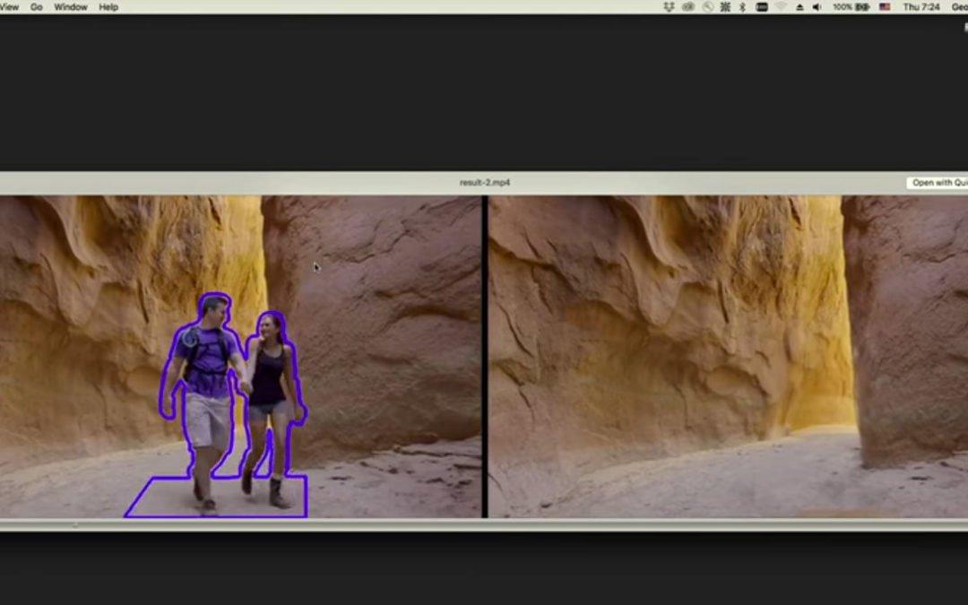 Einfach Objekte in Videos verschwinden lassen: NextGen-Videomanipulation mit Adobe Project Cloak