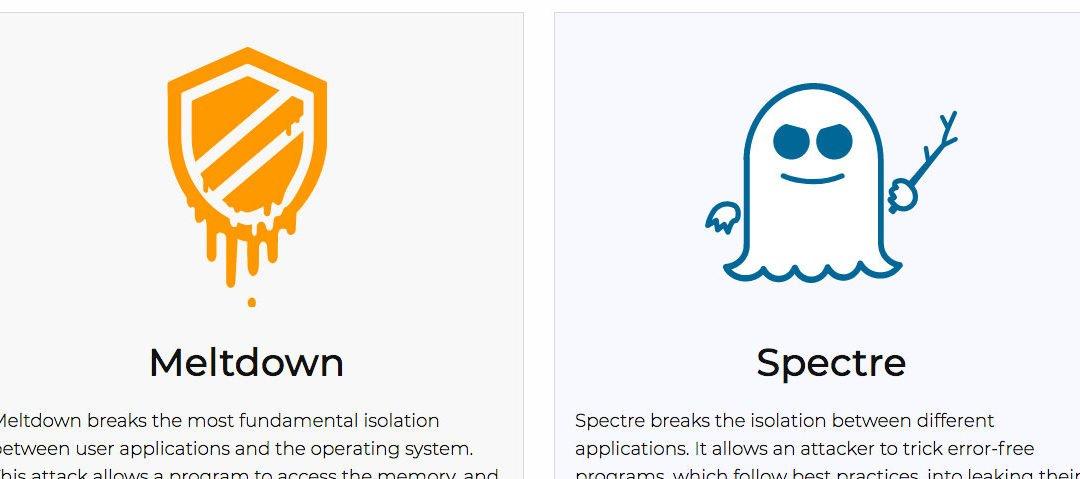 Sicherheitslücken Meltdown und Spectre erklärt: Intel, AMD, ARM, Apple, Microsoft, Linux & Co.